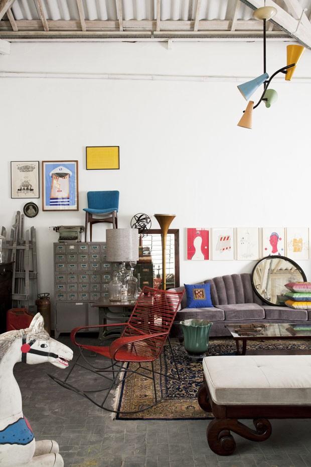 Como dar vida nova a móveis vintage