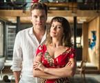 'O outro lado do paraíso':Patrick (Thiago Fragoso) e Clara (Bianca Bin) | Globo/Raquel Cunha