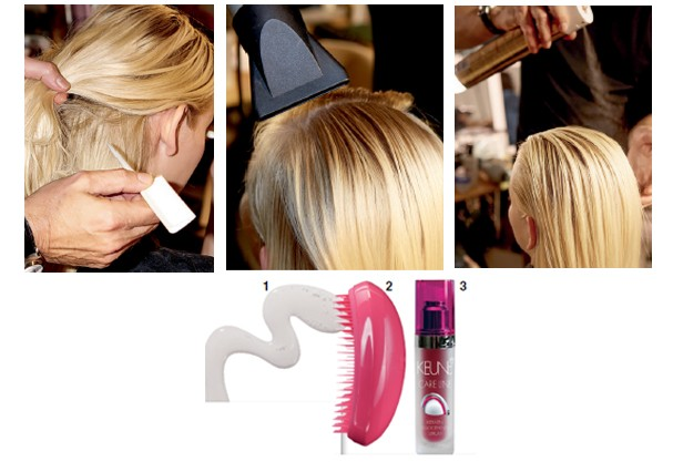 1. Fixing Gel, R$ 47, Yellow; 2. Escova anatômica, R$ 60, Tangle Teezer; 3. Sérum, R$ 227, Keune (Foto: Imaxtree/Divulgação)