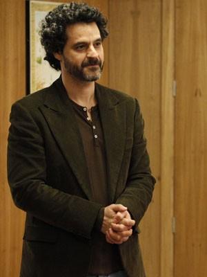 Bruno Garcia dá vida ao visionário Ricardo (Foto: Raphael Dias/TV Globo)