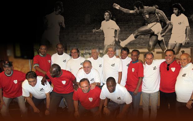 chamada CARROSSEL 40 anos Santos X Portuguesa (Foto: arte esporte)