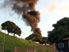 Homem morre em explosão de caminhão-tanque em Betim, em MG