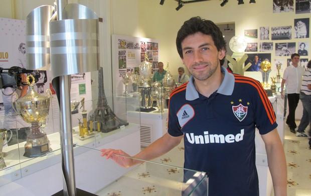 Ricardo Berna Fluminense (Foto: Leonardo Filipo / Globoesporte.com)