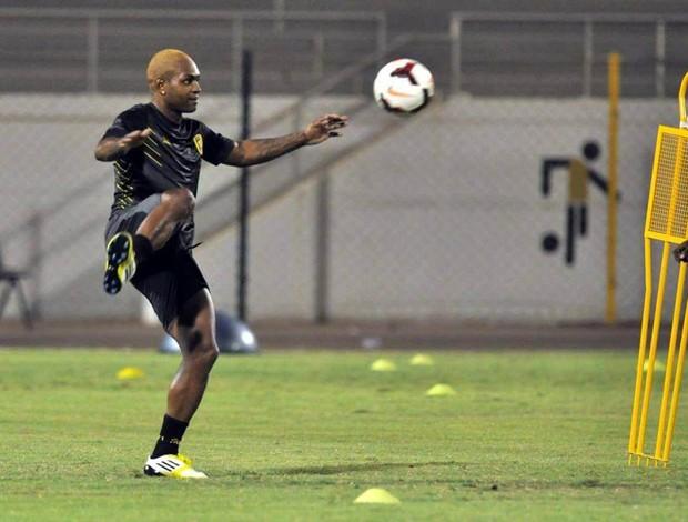 Jobson treino Al Ittihad (Foto: Arquivo Pessoal)