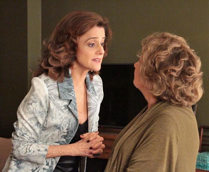 Fanny também se desintende com Fábia (Foto: Isabel Bonato/ Gshow)