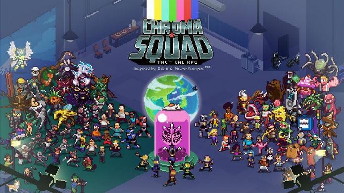 Crie sua equipe de heróis em Chroma Squad (Foto: Divulgação/Behold Studios)