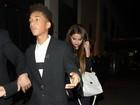 Selena Gomez janta com filho de Will Smith na Inglaterra