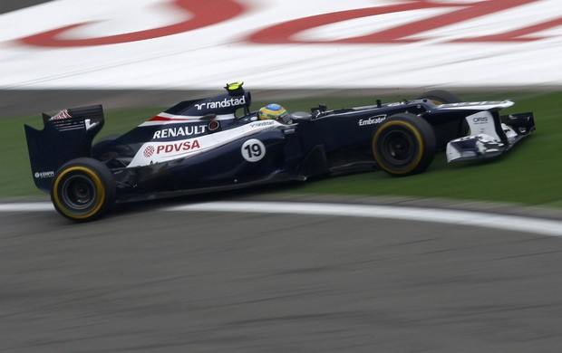 F1 Gp da China Bruno Senna (Foto: Reuters)