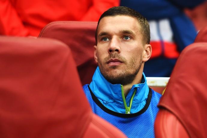 Podolski, do Arsenal (Foto: Getty Images)