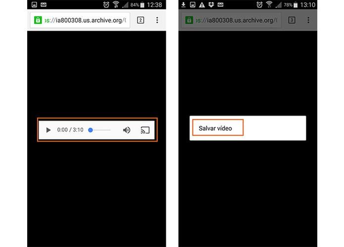 Abra músicas e vídeos diretamente no Chrome pelo Android ou baixe (Foto: Reprodução/Barbara Mannara)