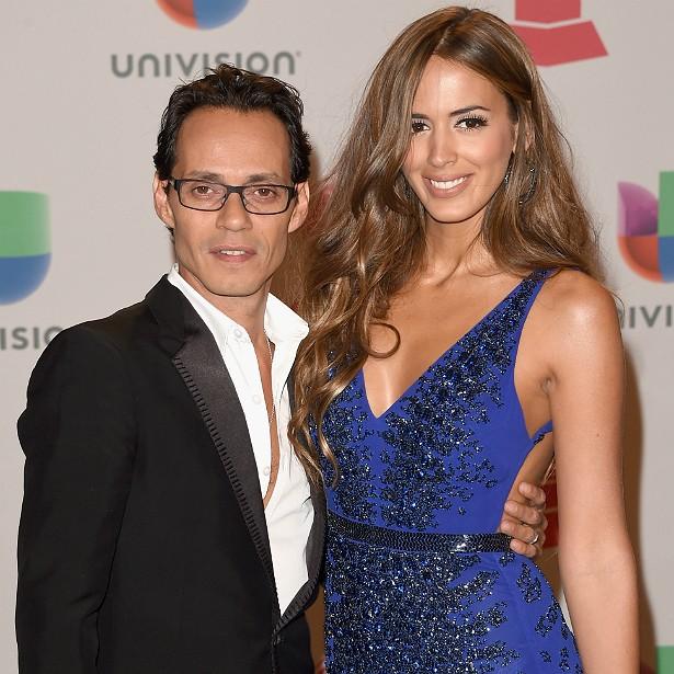 O compositor Marc Anthony se casou no ano passado com a modelo venezuelana Shannon De Lima, quase duas décadas mais nova. (Foto: Getty Images)