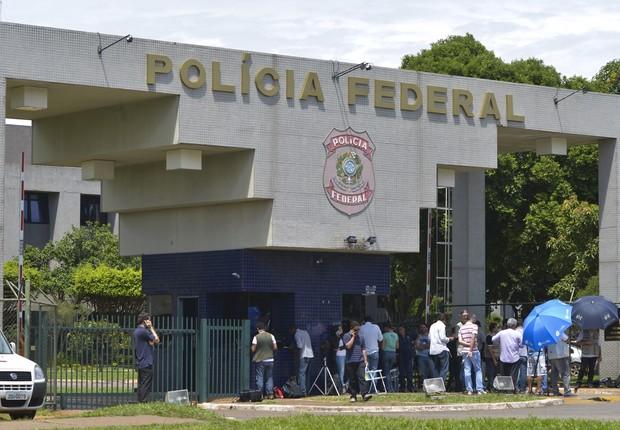 Polícia Federal em Brasília (Foto: Marcello Casal JR/ ABr)