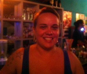 Mayra Toffaneto, 28 anos, gerontóloga (Foto: Rodrigo Ortega/G1)