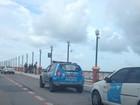 Suspeito de assalto é preso ao tentar fugir pela maré no Recife