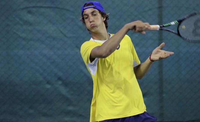 Felipe Meligeni sobrinho Fernando tênis São José dos Campos tenista (Foto: Bruno Rocha/ Divulgação)