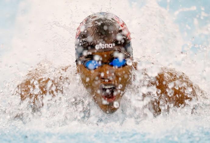 Giles Smith  mundial natação (Foto: AFP)