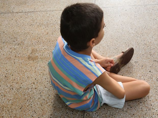 Menino está em abrigo da capital sergipana (Foto: Ana Lícia/AAN)