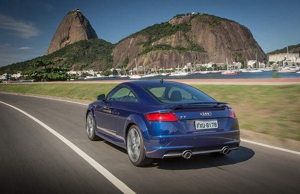 Audi TT Coupé 2015 (Foto: Divulgação)
