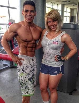 Bodybuilder Freddy Rojas Pardo (Foto: Freddy Rojas/ Arquivo pessoal)