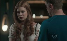 Eliza se preocupa com a possibilidade de não ter Jonatas de volta