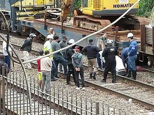 5698b33068b G1 - Homem é atropelado por trem e morre em Santos Dumont