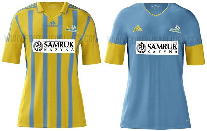 Camisas Champions Astana