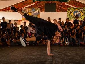 Dança urbana é contemplada por alunos (Foto: Hygor Varani/ Arquivo Pessoal)