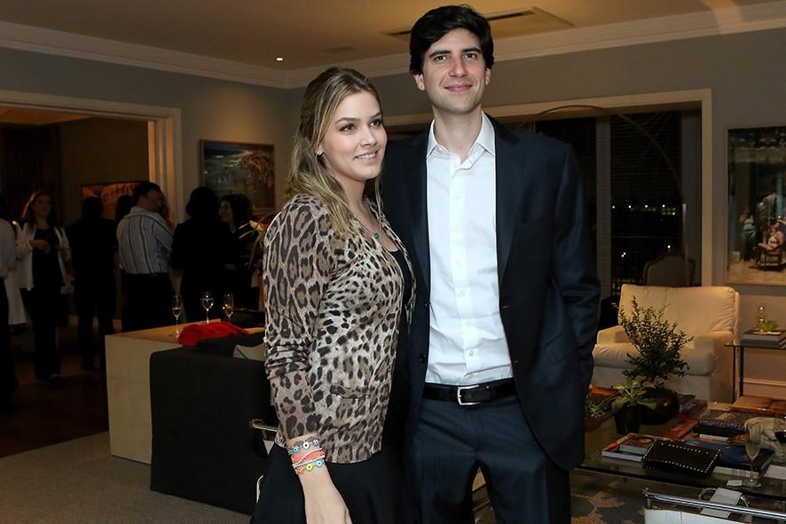 Dani Tranchesi lança seu site durante jantar (Foto: Editora Globo)