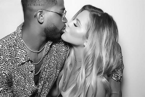Khloé Kardashian e Tristan (Foto: Instagram)