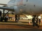 Avião cancela decolagem em Macapá após suspeita de pane hidráulica