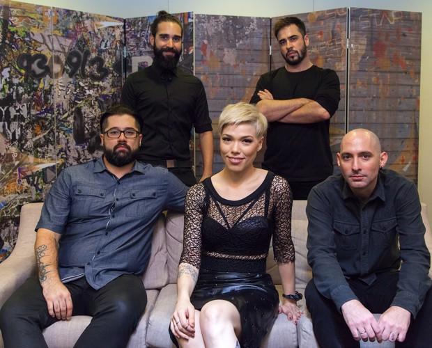 Kita bastidores audição 2 (Foto: Fabiano Battaglin/Gshow)