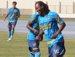 Andrezinho no treino do Botafogo (Foto: Thales Soares / GloboEsporte.com)