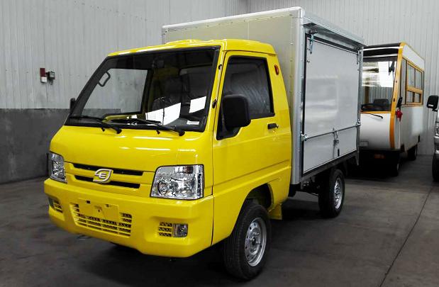 e.coCargo, caminhão elétrico da Hitech Electric (Foto: Divulgação)
