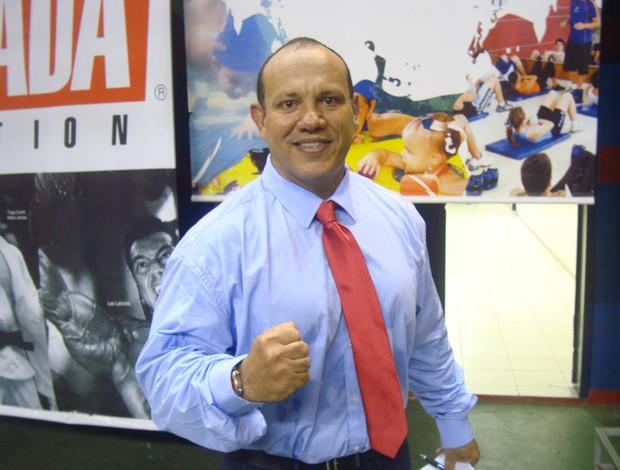 Organizador do Spartan MMA Oliver Leite comemora sucesso do evento (Foto: Afonso Diniz/Globoesporte.com)