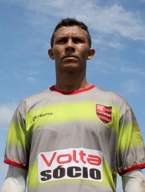 Robson - Goleiro do Flamengo-PI (Foto: Josiel Martins)