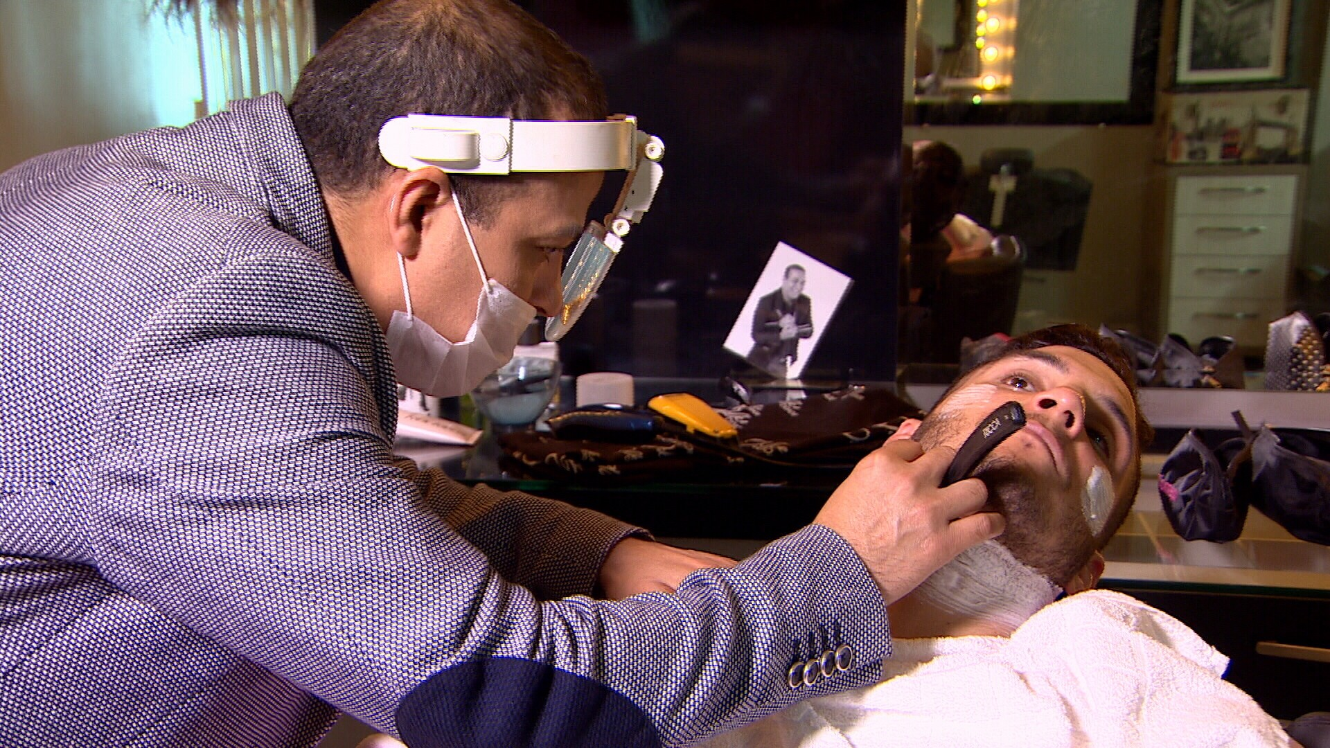 Programa dá dicas de como cuidar da barba, no quadro Espia Só (Foto: Amazônia Revista)