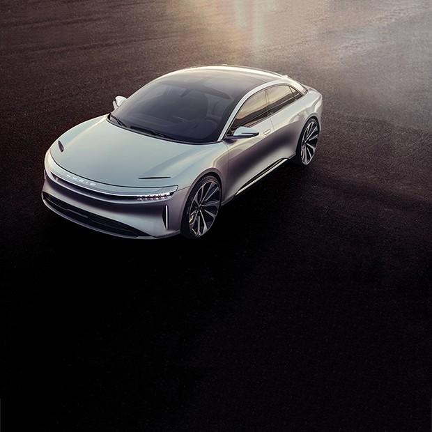 Tesla Lucid Air (Foto: Divulgação)
