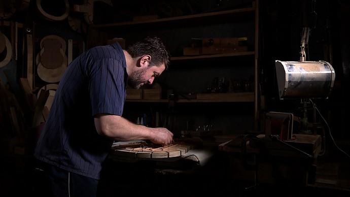 Mistura com Rodaika Luthier  (Foto: Reprodução/RBS TV)