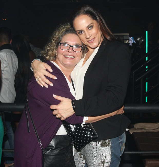 Cintia e Silvia Abravanel (Foto: Manuela Scarpa/Brazil News)