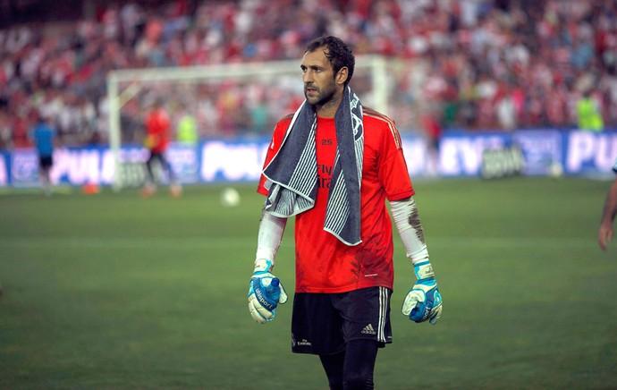 Diego Lopez Real Madrid (Foto: Agência Reuters)