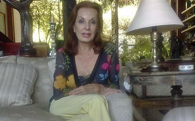 Adalgisa Colombo Miss Brasil em 1958 (Foto: Alícia Uchôa / G1)
