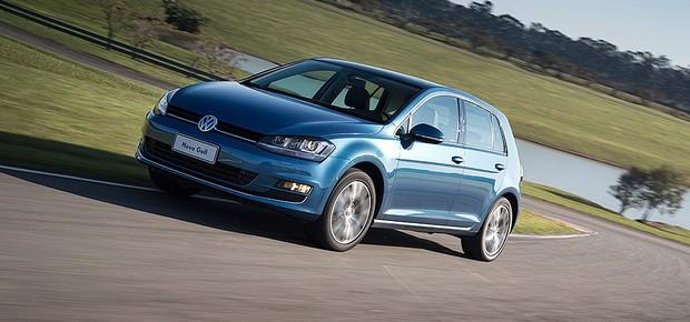 Volkswagen Golf (Foto: Fabio Aro/Autoesporte)