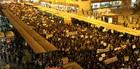 CURITIBA: ato reúne 10 mil contra tarifa (Franklin de Freitas/Estadão Conteúdo)
