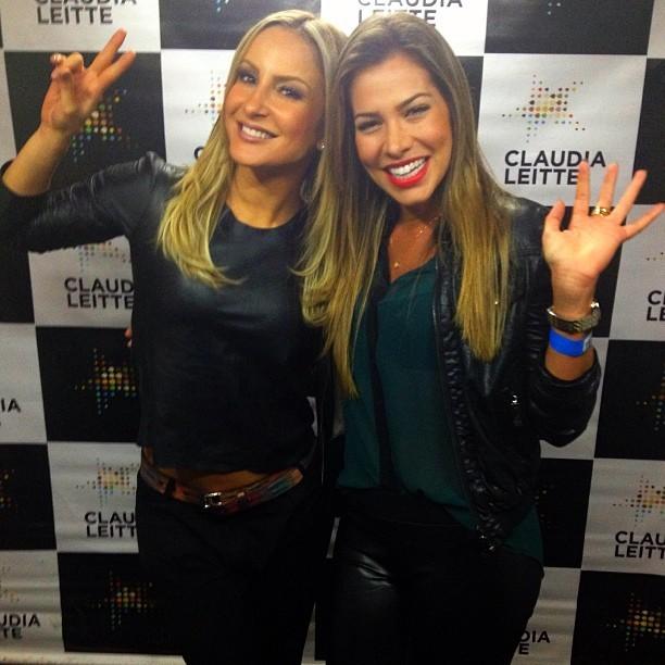 Claudia Leitte e Adriana (Foto: Instagram/ Reprodução)