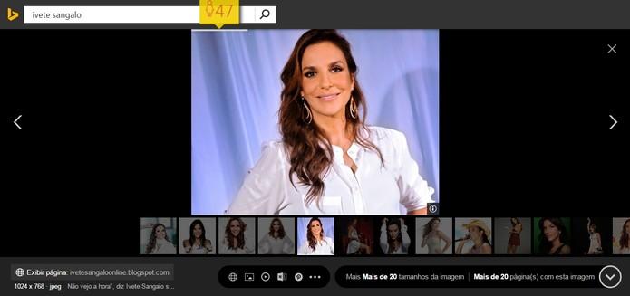 How Old Do I Look chega ao Bing. Teste com famosos (Foto: Reprodução/Bing)