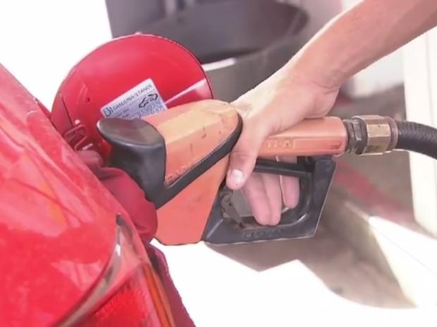 Posto de combustível (Foto: Reprodução/TV Verdes Mares)