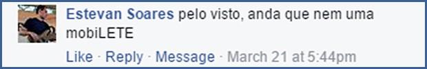 Leitores opinam sobre o Fiat Mobi (Foto: Reprodução/Facebook)