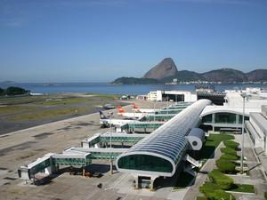 Aeroporto Santos Dumont (Foto: Divulgação / Infraero)
