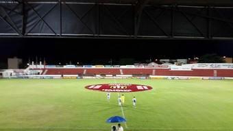 Gilberto Siqueira Lopes, Lins, Linense, Estádio, Gilbertão, Paulistão  (Foto: Thiago D'Ângelo / SporTV)