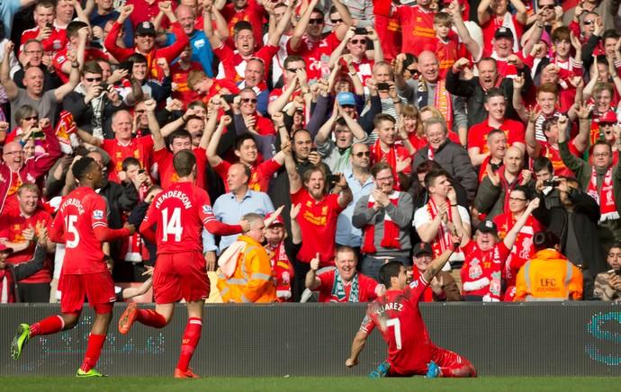 Luis Suárez Liverpool (Foto: AP)